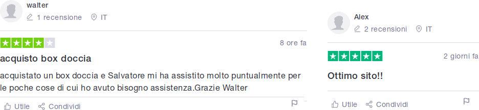 Recensioni e opinioni dei clienti su Manomano in Italia dopo il loro acquisto sul sito